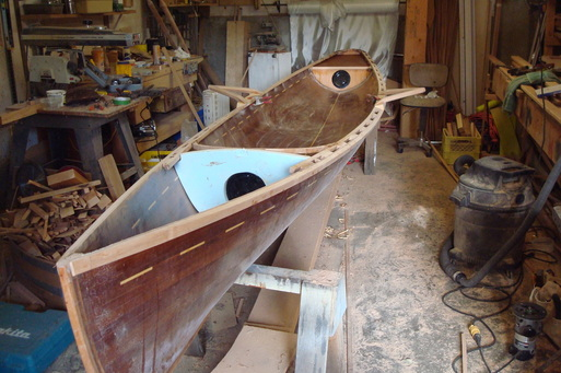pulling boat, riggers, gunwhales and bulkheads